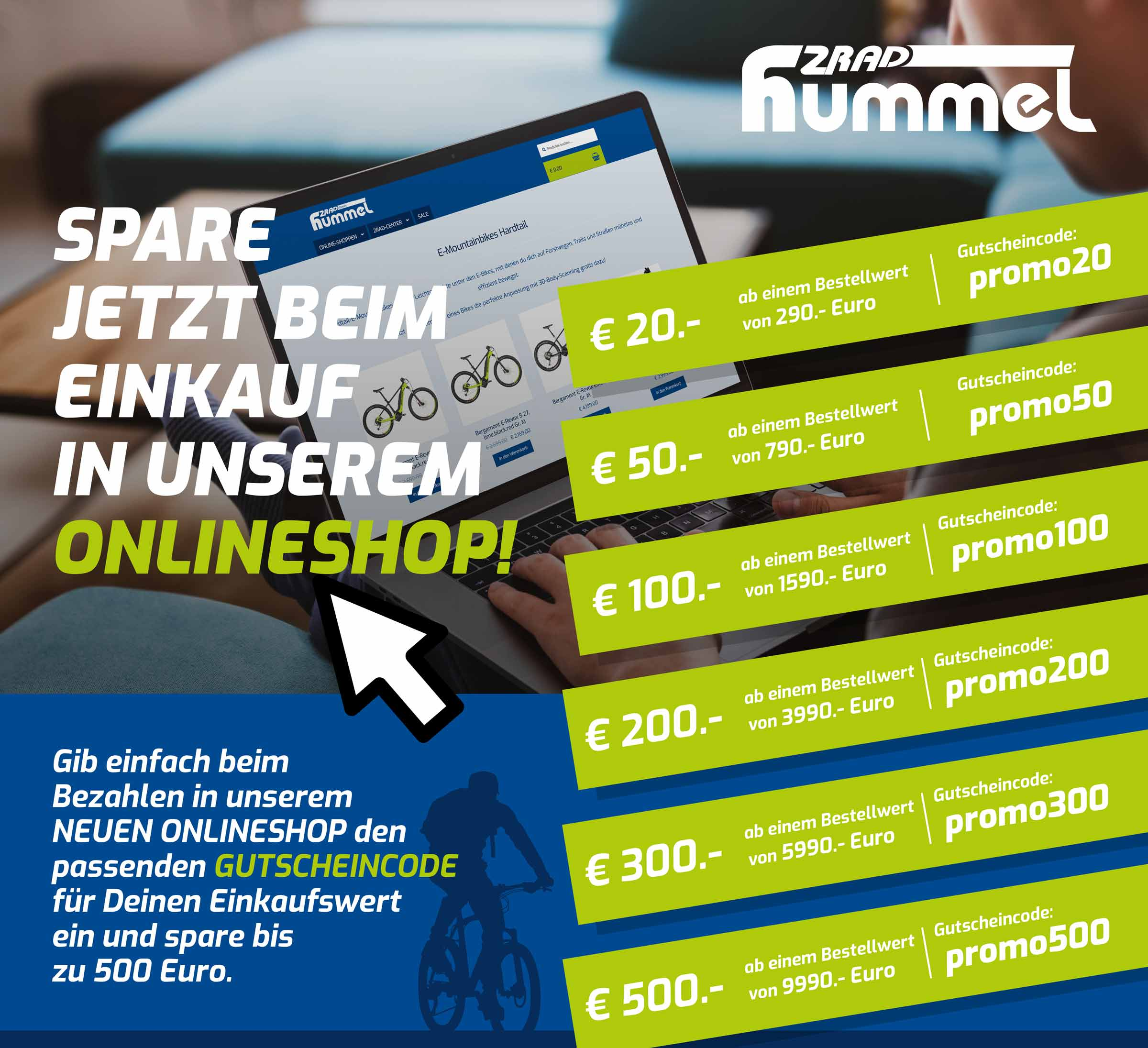bike shop promotioncode hummel